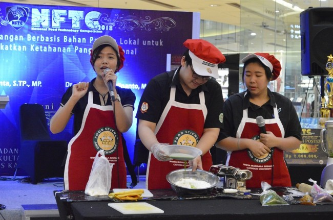 UKWM Surabaya Gelar National Food Technology Competition
