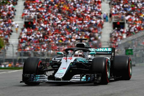 Pembalap Mercedes F1 Lewis Hamilton (Foto: AFP/Mark Thompson)