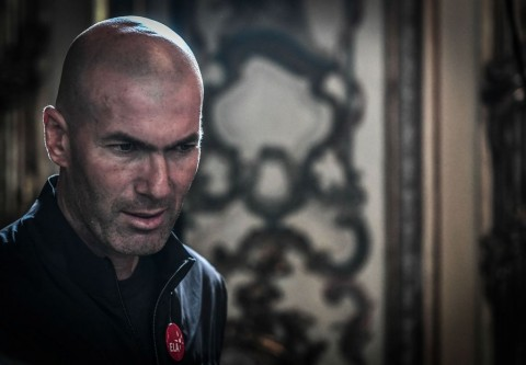 Zinedine Zidane. (AFP PHOTO / STEPHANE DE SAKUTIN)