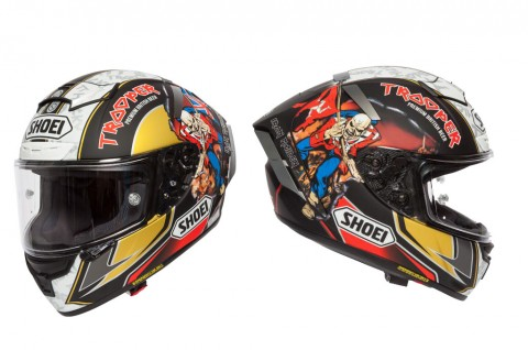 Shoei X-Spirit III digunakan oleh Peter Hickman di Isle of Man TT. Shoei