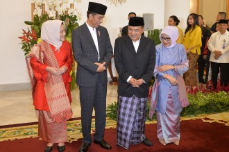 Semarak <i>open house</i> Jokowi
