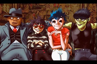 Gorillaz Rilis Singel Fire Flies