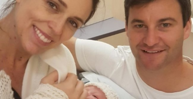 New Zealand Prime Minister Gives Birth to Baby Girl