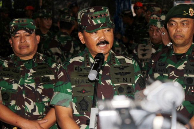Marshal Hadi Reiterates TNI Neutrality During Election