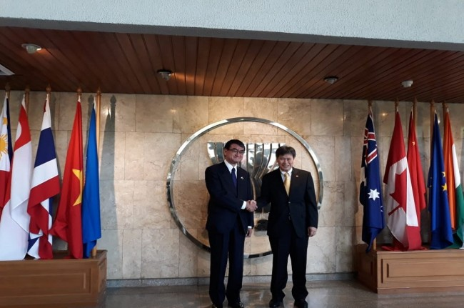 Japan Supports ASEAN Centrality in Region