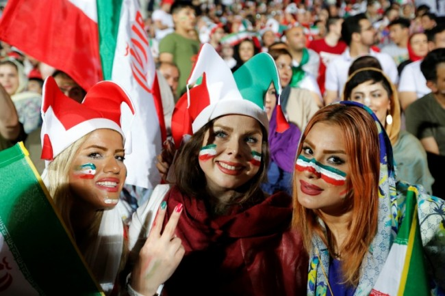 World Cup Sees Iranian women Score Spot in the Stands