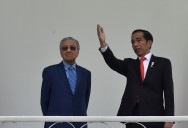 Jokowi, Mahathir Discuss Corruption, Connectivity, Border Settlement and Politics