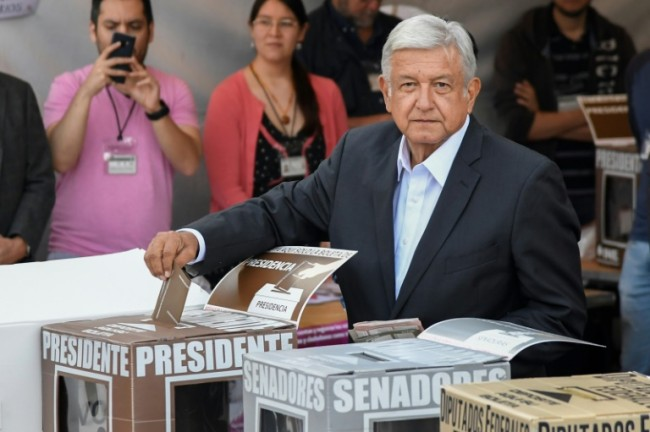 Leftist 'AMLO' Sweeps to Mexican Presidency