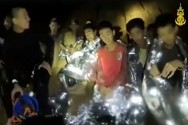 Fresh Navy Video Shows Thai Cave Boys in