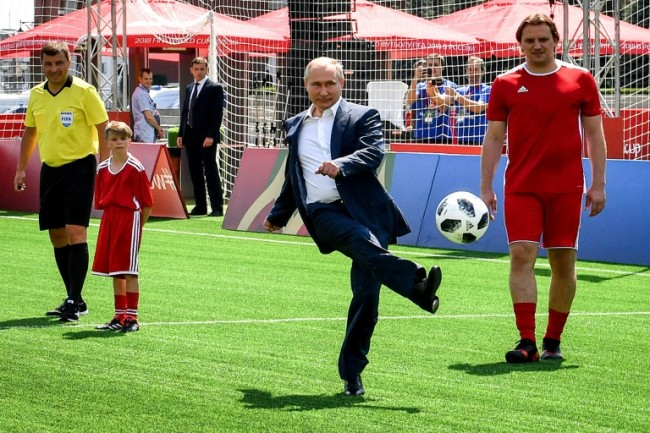 Russia Tests Limits of World Cup Feel-Good Factor