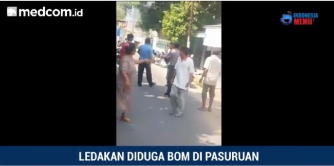 Suspected Bomb Explosions in Pasuruan, One Boy Injured