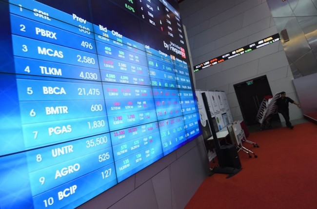 Indonesian Stocks Slightly Up