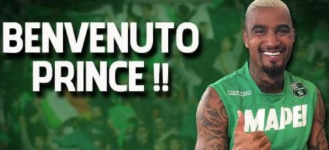 Kevin Prince Boateng. (Foto: Sassuolo)