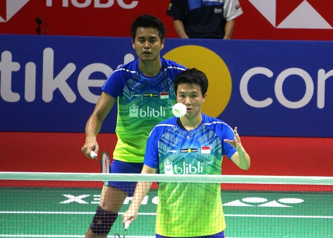 Owi/Butet Lolos ke Final Indonesia Open 2018