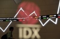 Indonesian Stocks Surge in First Session