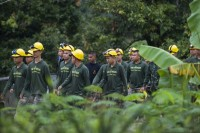 Eight Rescued from Thai Cave, but Five Remain Trapped
