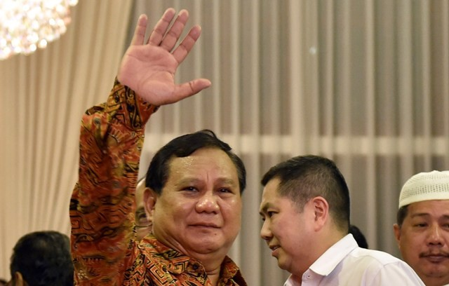 Prabowo Will Announce His Coalition of Parties Soon: Gerindra