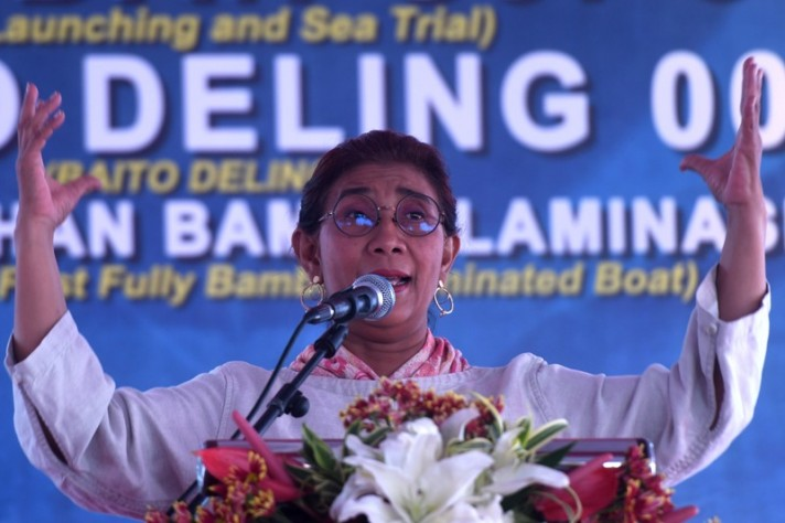Minister Susi Lauded for Combating IUU Fishing