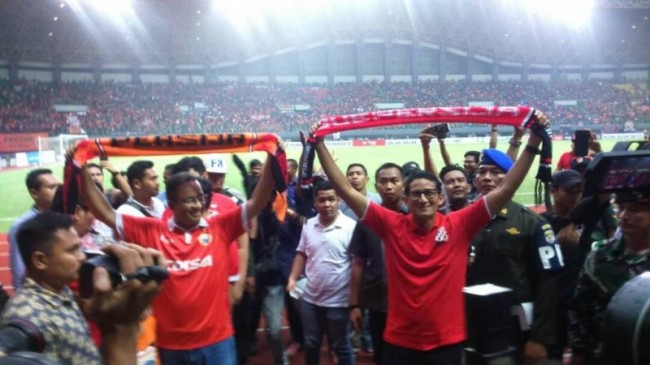 Jakarta Govt to Build New Stadium for Persija
