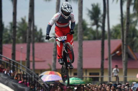 Atlet Indonesia Juara Banyuwangi International BMX 2018