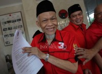PKS Founder Registered as PDI Perjuangan Legislative Candidate