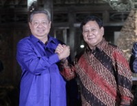 Prabowo to Visit SBY at Hospital