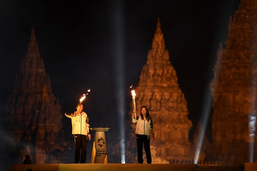 Obor Asian Games 2018 Siap Diarak Keliling Indonesia