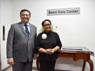 Indonesian FM Inaugurates Seoul Data Center