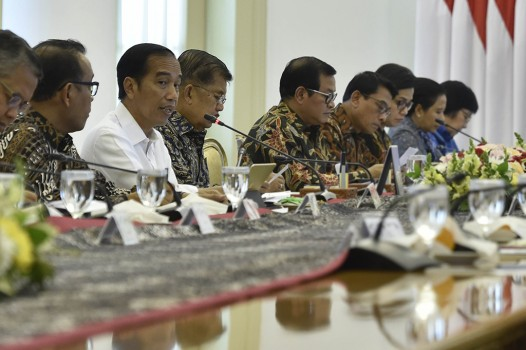 Jokowi Pimpin Ratas Soal Cadangan Devisa