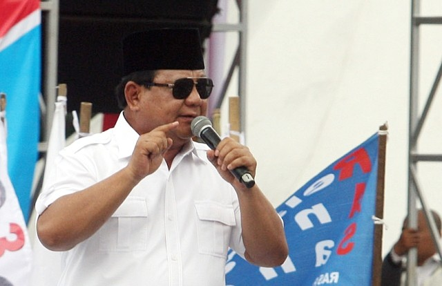Prabowo to Announce His VP Pick Today
