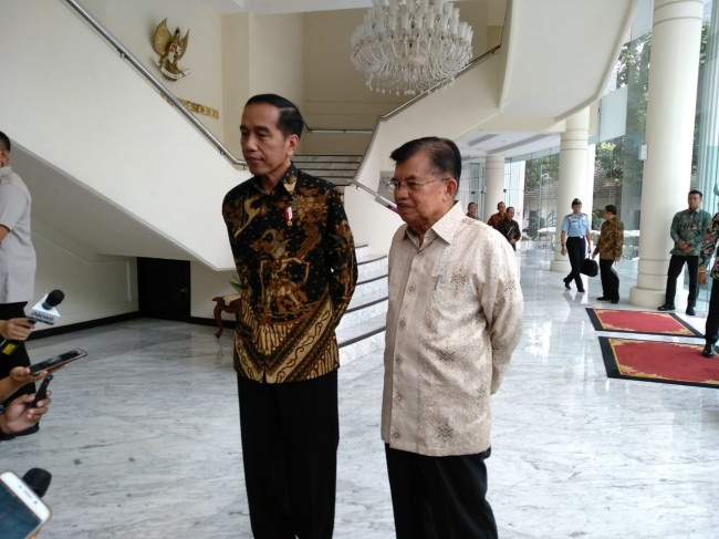 Kalla Asked to Join Jokowi's Campaign Team