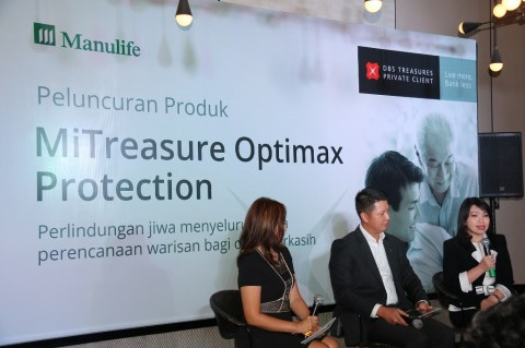 Suasana peluncuran MiTreasure Optimax Protection (Foto: DBS Indonesia)