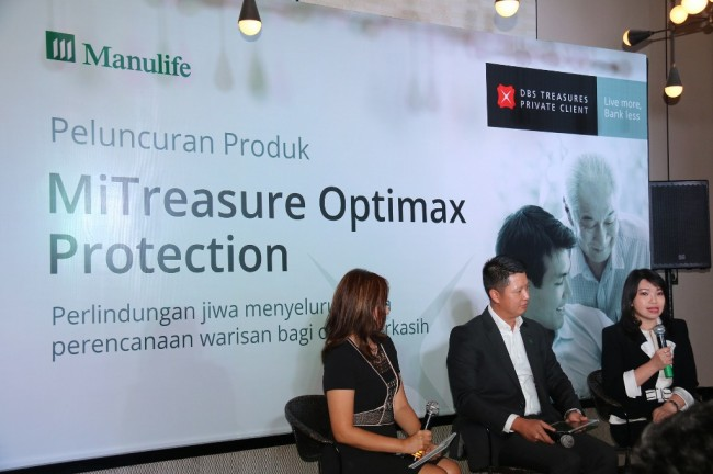 DBSI-Manulife Luncurkan MiTreasure Optimax Protection