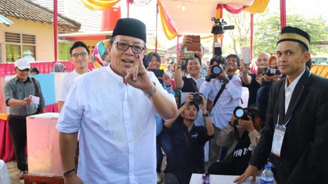 KPU Tetapkan Arinal Gubernur Lampung Terpilih