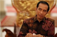 Jokowi Receives Credentials from 8 Ambassadors