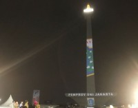 <i>Video Mapping</i> bakal Hiasi Tugu Monas Selama Asian Games