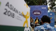 Jalur Alternatif saat Pawai Obor Asian Games di Ragunan
