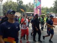 Api Obor Asian Games Sampai di GBK