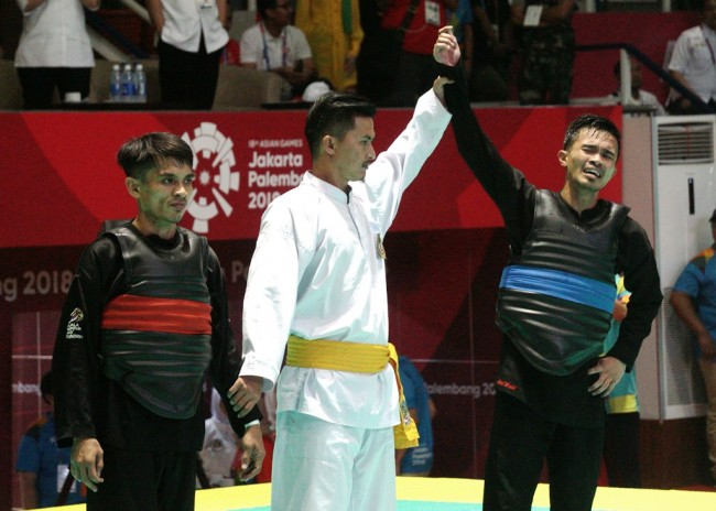 Indonesia Wins 8 Pencak Silat Golds on Day 9 of Asian Games