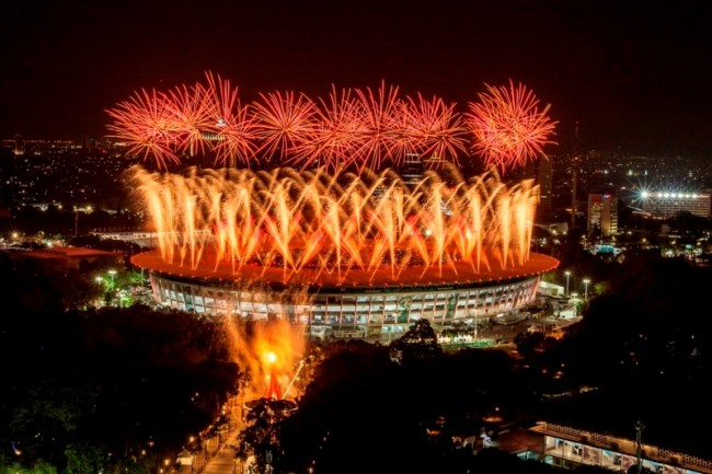 Police, Military to Secure Asian Games Closing Ceremony