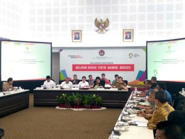 Minister Puan Leads Meeting on Lombok Reconstruction Plans