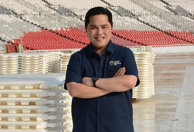Erick Thohir Shortlisted as Jokowi's Campaign Team Leader