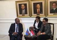 FMs of Indonesia, DR Congo Hold Bilateral Meeting