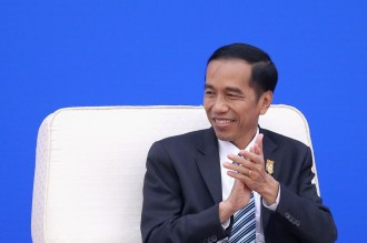 Jokowi Meets 4 South Korean Business Leaders