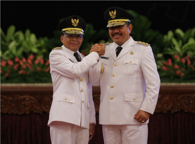 Bali Governor Supports  Jokowi's Re-election Bid