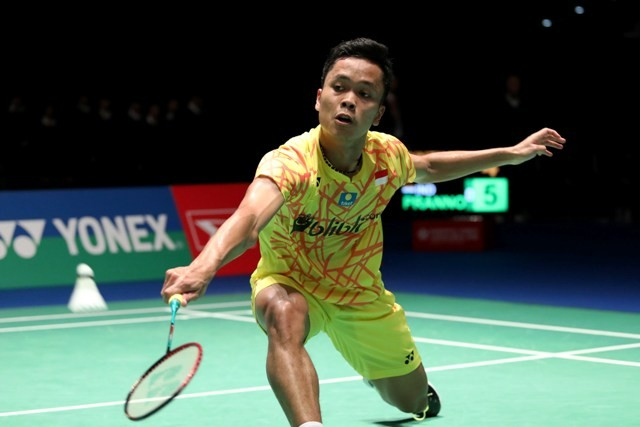 Anthony Ginting Ditunggu Wakil Denmark di Perempat Final