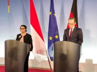FM Retno Discusses IEU-CEPA during Germany Visit