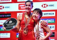Carolina Marin Rusak Dominasi Asia di Japan Open