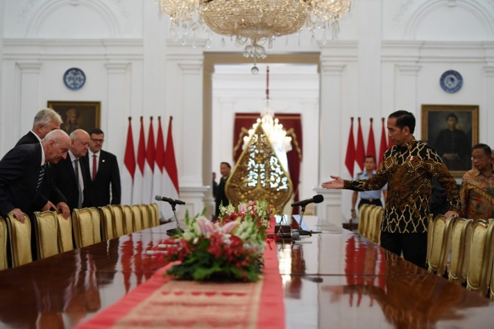 President Jokowi Says the Czech Republic is an Old Friend