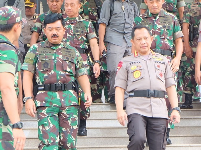 TNI, Polri Reiterate Neutrality in 2019 Elections